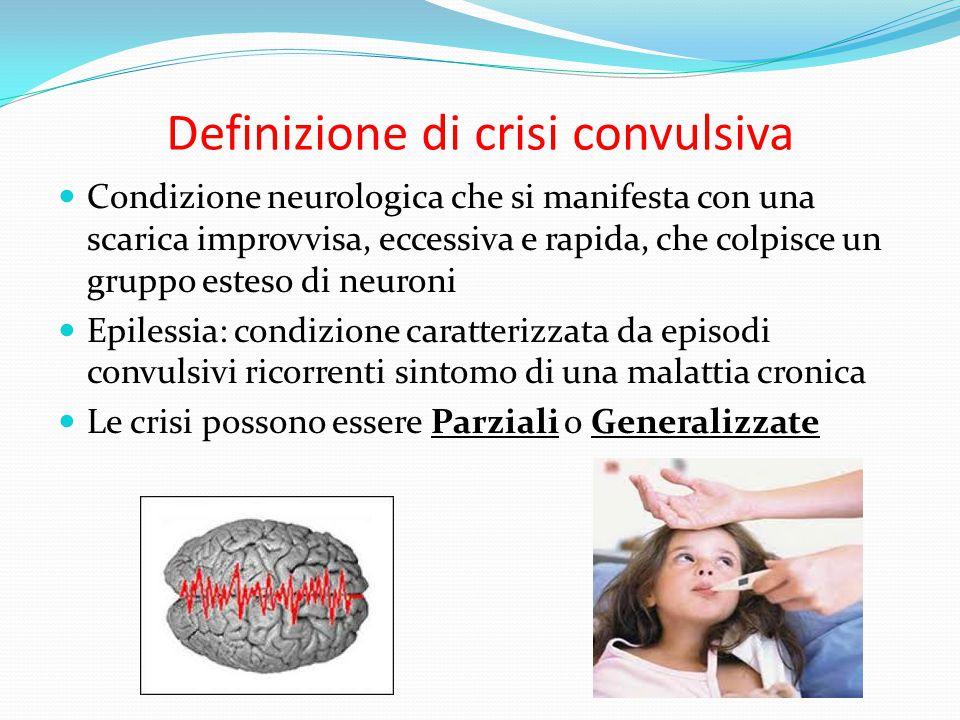 Definizione di crisi convulsiva