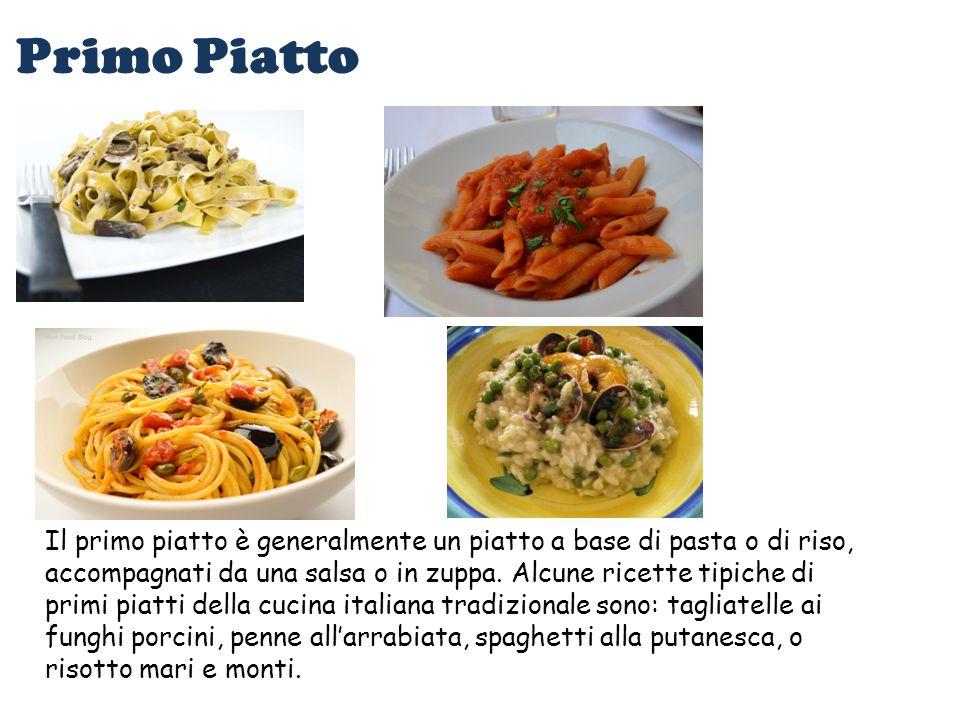 Struttura del pranzo tradizionale italiano ppt video for Cucina italiana primi piatti