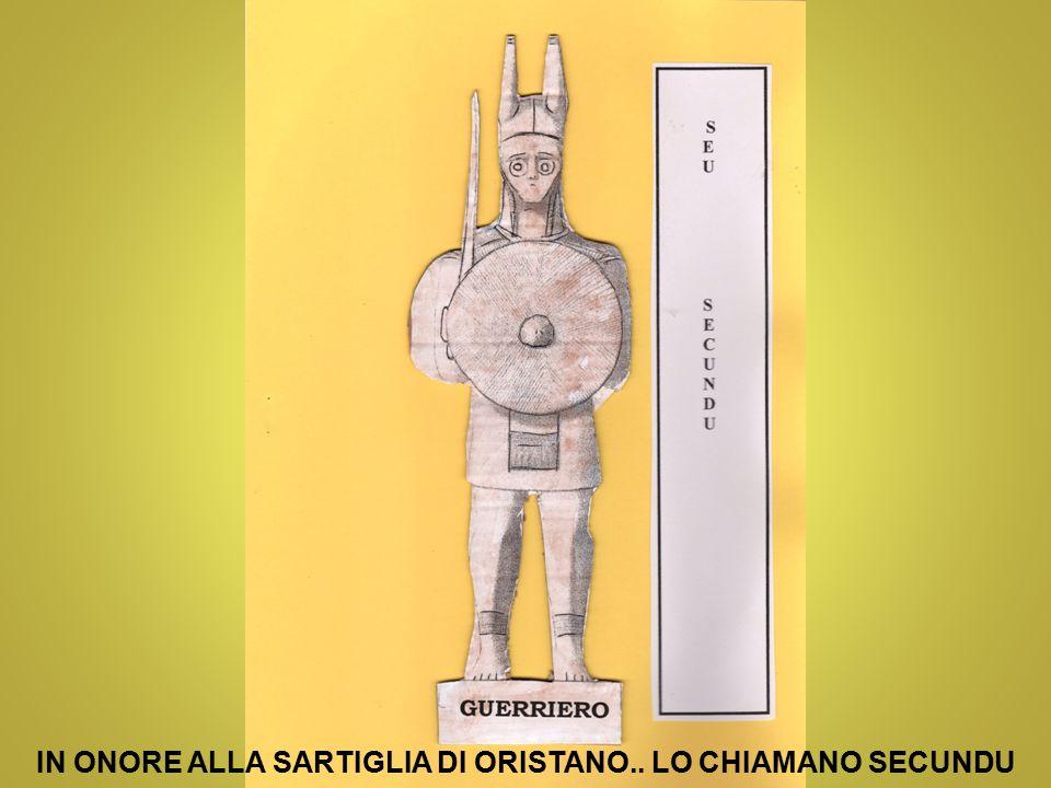 IN ONORE ALLA SARTIGLIA DI ORISTANO.. LO CHIAMANO SECUNDU