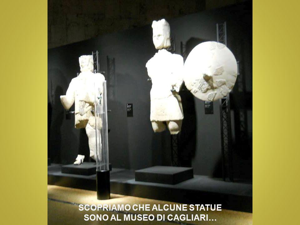 SCOPRIAMO CHE ALCUNE STATUE SONO AL MUSEO DI CAGLIARI…