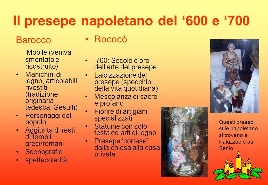 Il presepe napoletano del '600 e '700