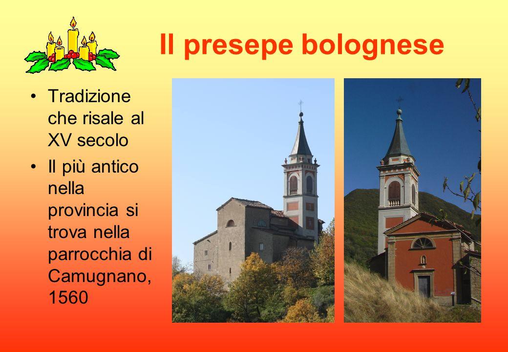 Il presepe bolognese Tradizione che risale al XV secolo