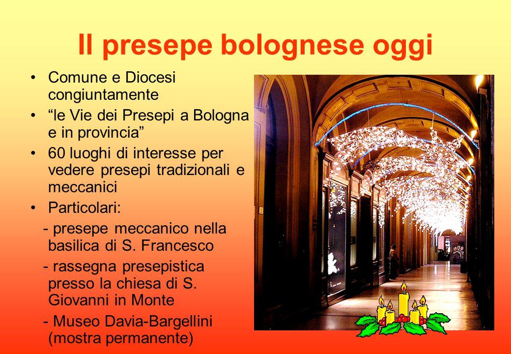 Il presepe bolognese oggi