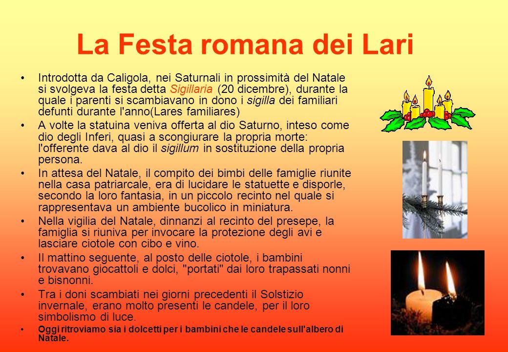 La Festa romana dei Lari