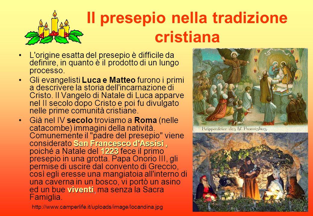 Il presepio nella tradizione cristiana