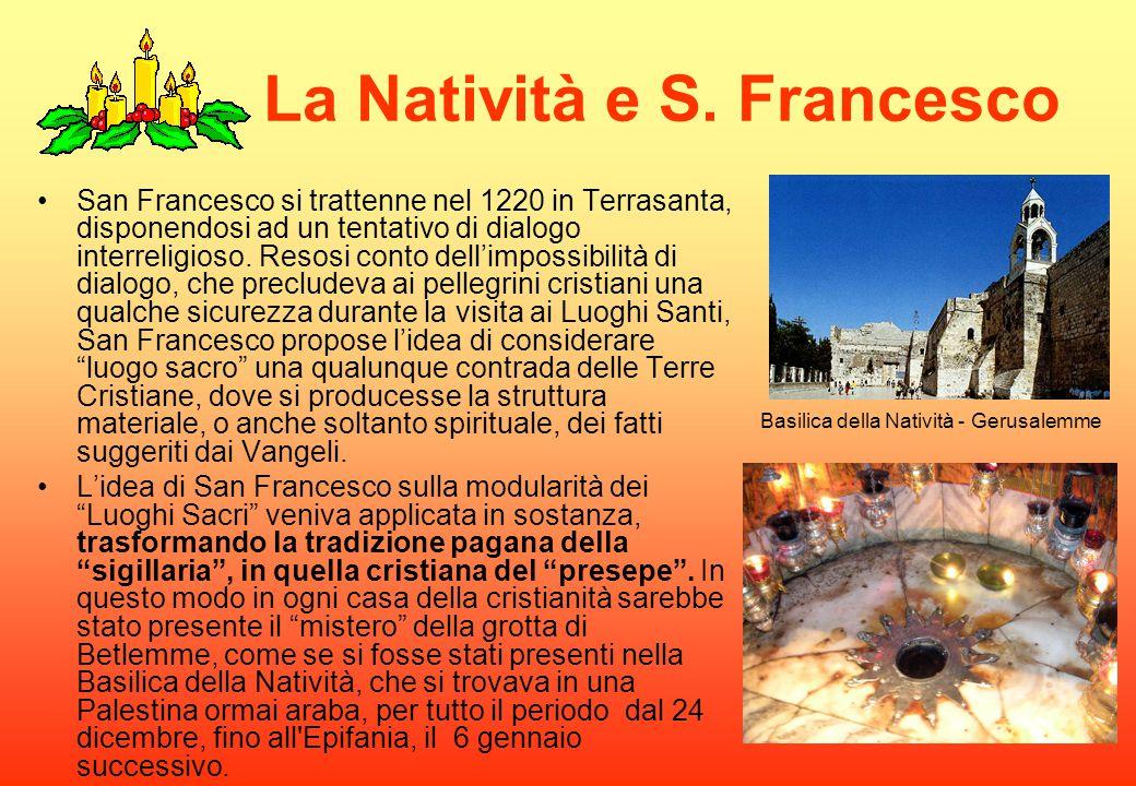 La Natività e S. Francesco