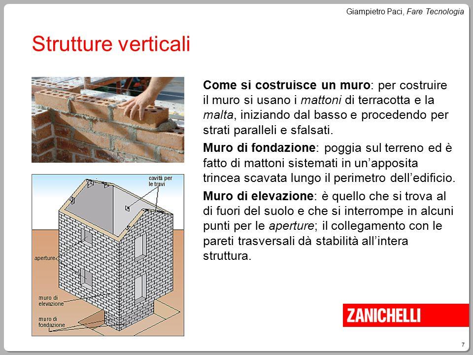 Strutture verticali
