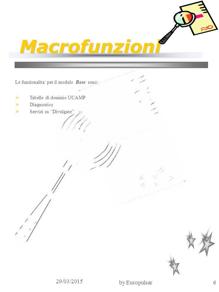 Macrofunzioni 09/04/2017 by Europulsar