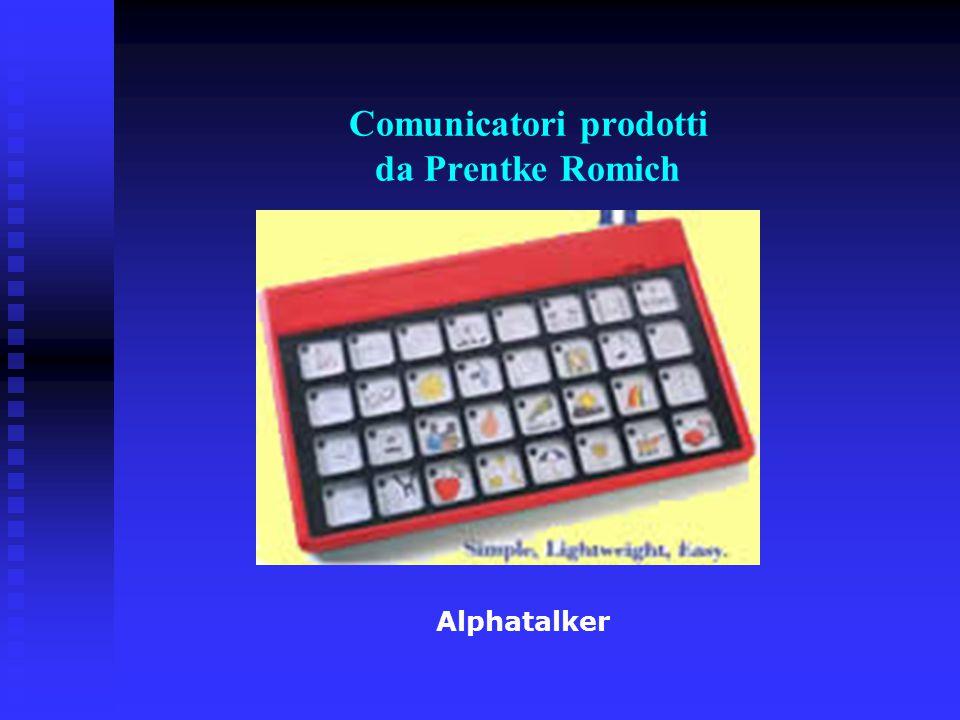 Comunicatori prodotti da Prentke Romich