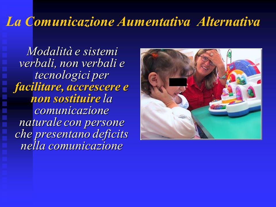La Comunicazione Aumentativa Alternativa