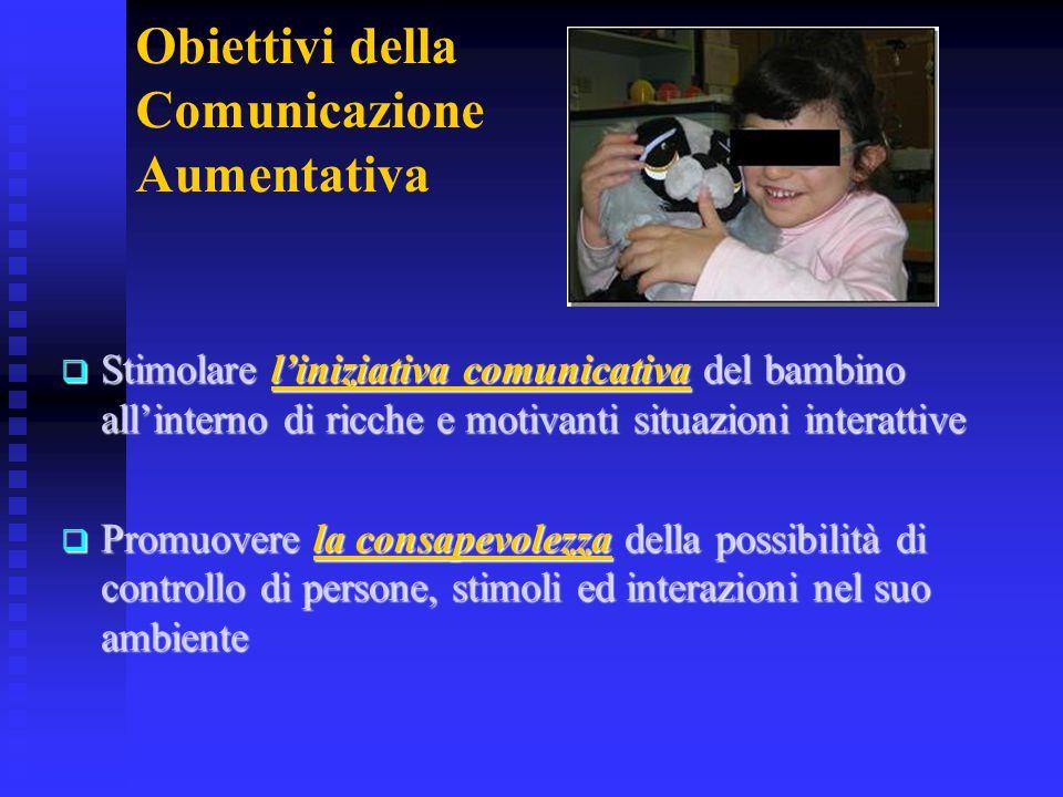 Obiettivi della Comunicazione Aumentativa