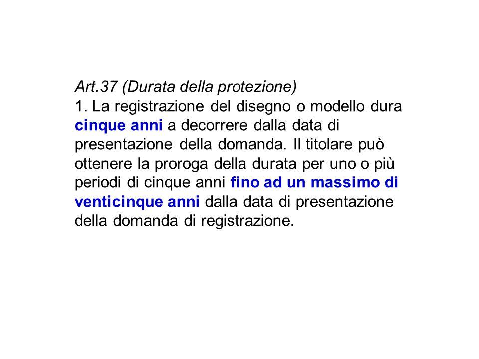 Art.37 (Durata della protezione)