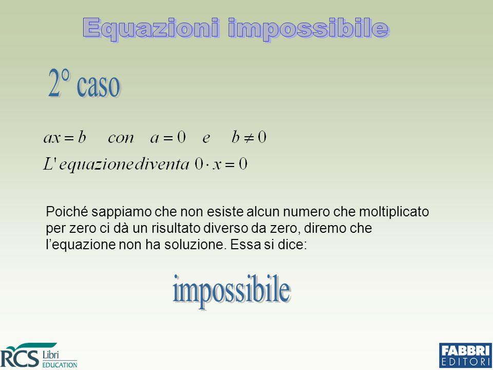 Equazioni impossibile