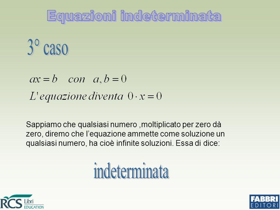 Equazioni indeterminata