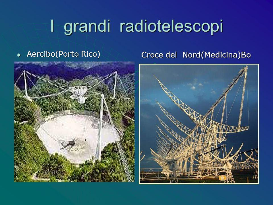I grandi radiotelescopi