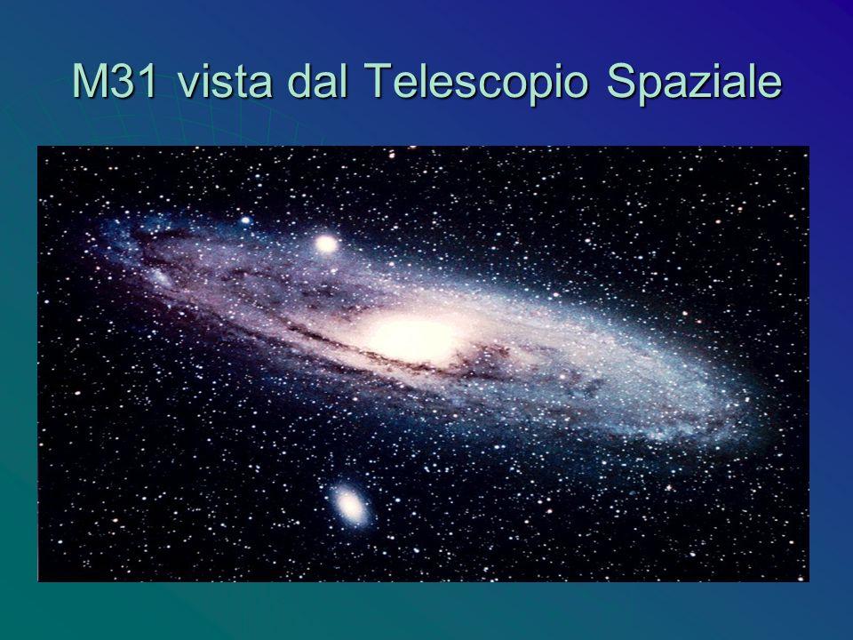 M31 vista dal Telescopio Spaziale