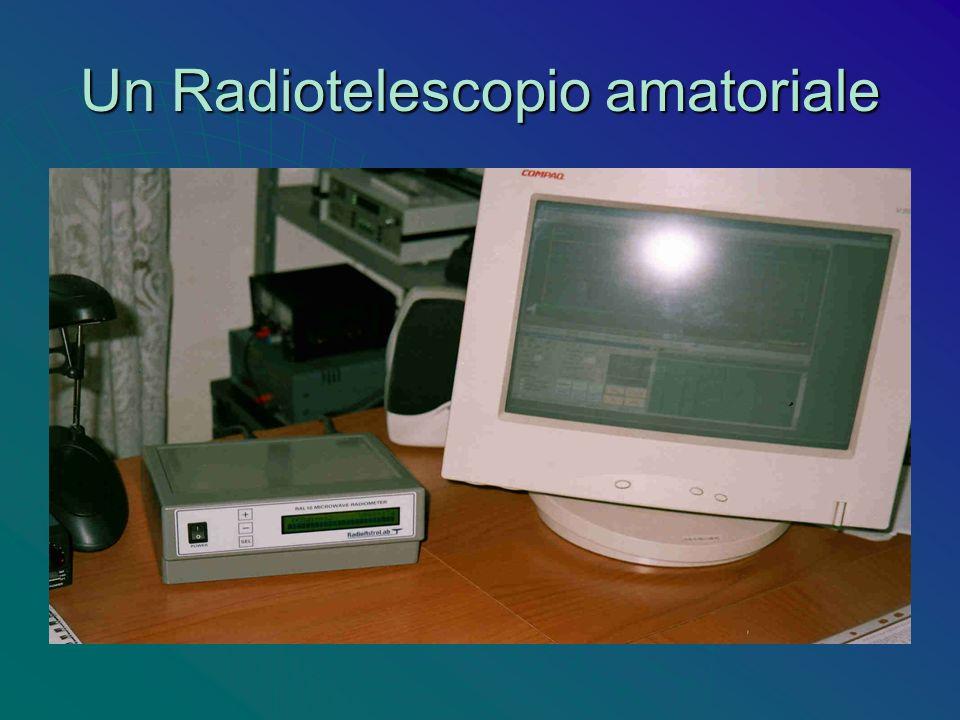 Un Radiotelescopio amatoriale