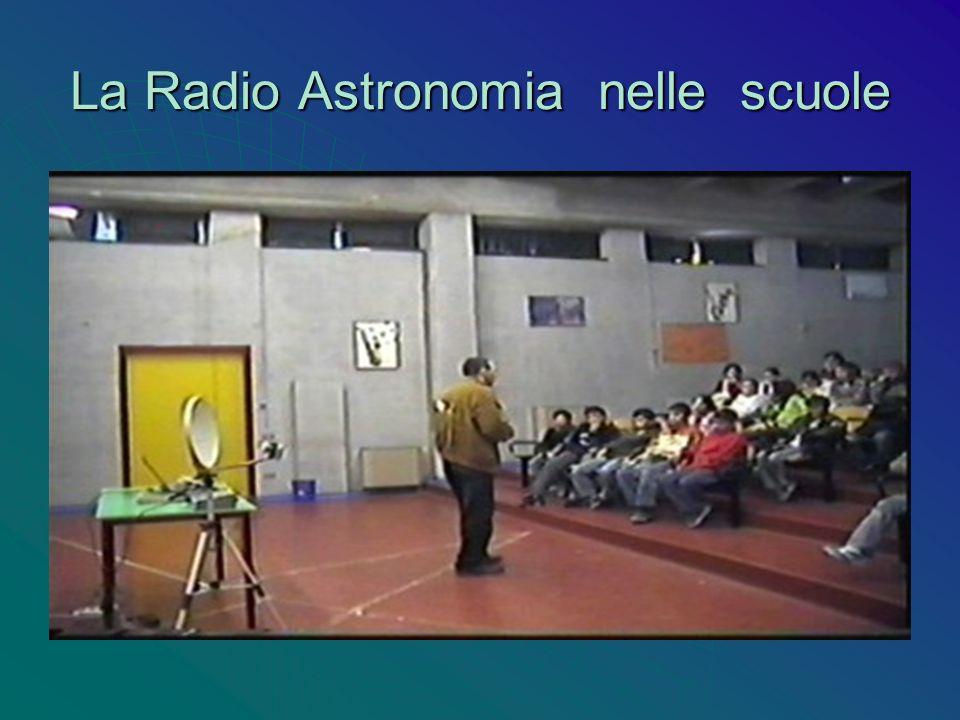 La Radio Astronomia nelle scuole