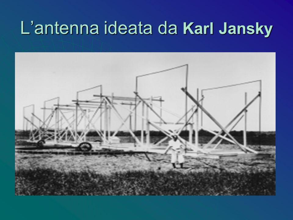 L'antenna ideata da Karl Jansky