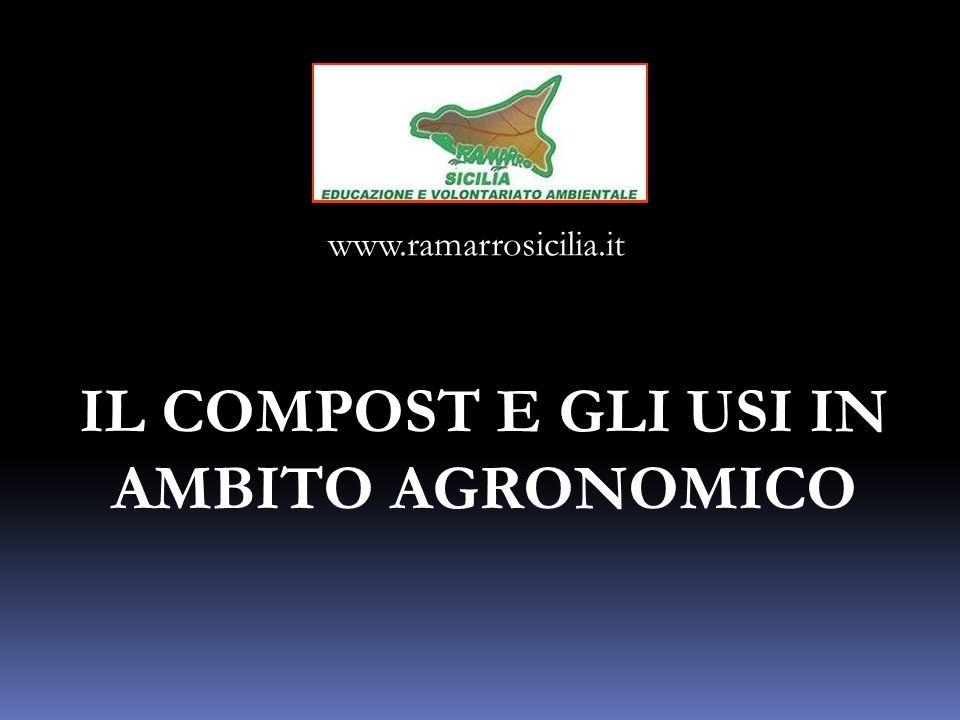 IL COMPOST E GLI USI IN AMBITO AGRONOMICO