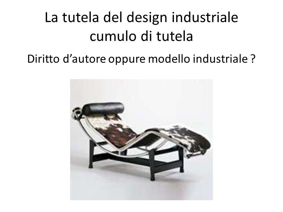 La tutela del design industriale cumulo di tutela