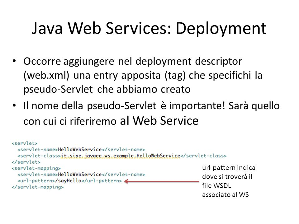 Java Web Services: Deployment