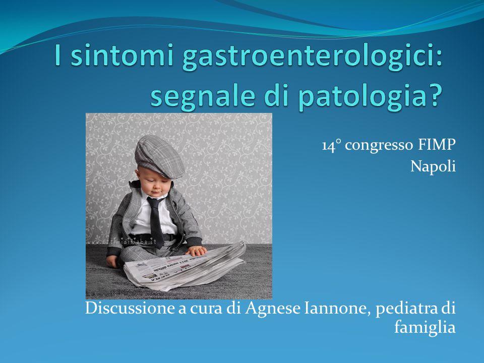 I sintomi gastroenterologici: segnale di patologia