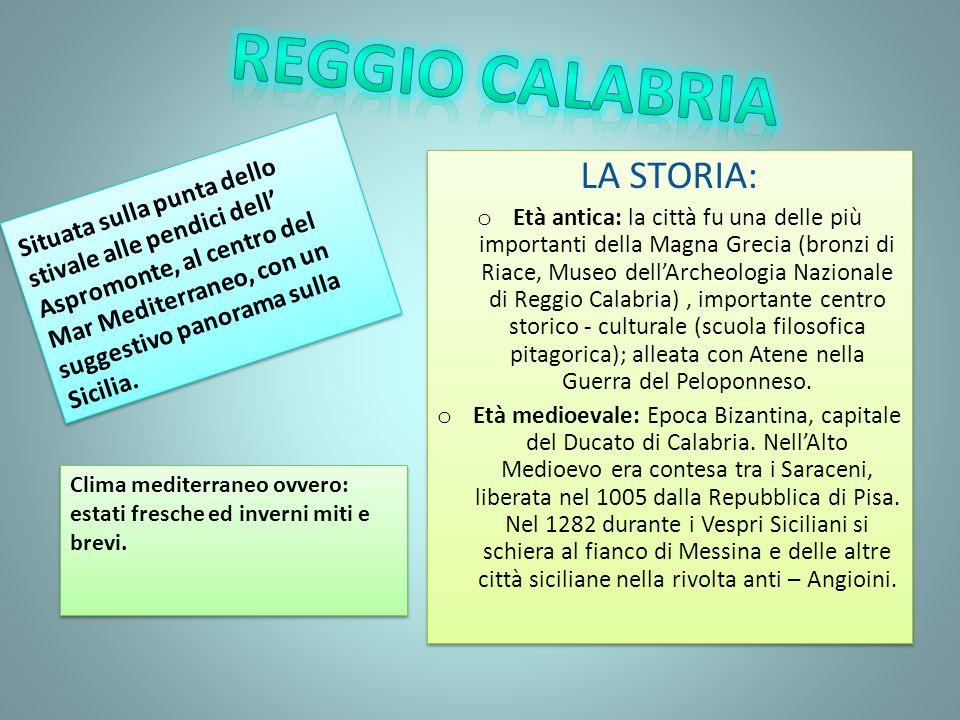 Reggio calabria LA STORIA: