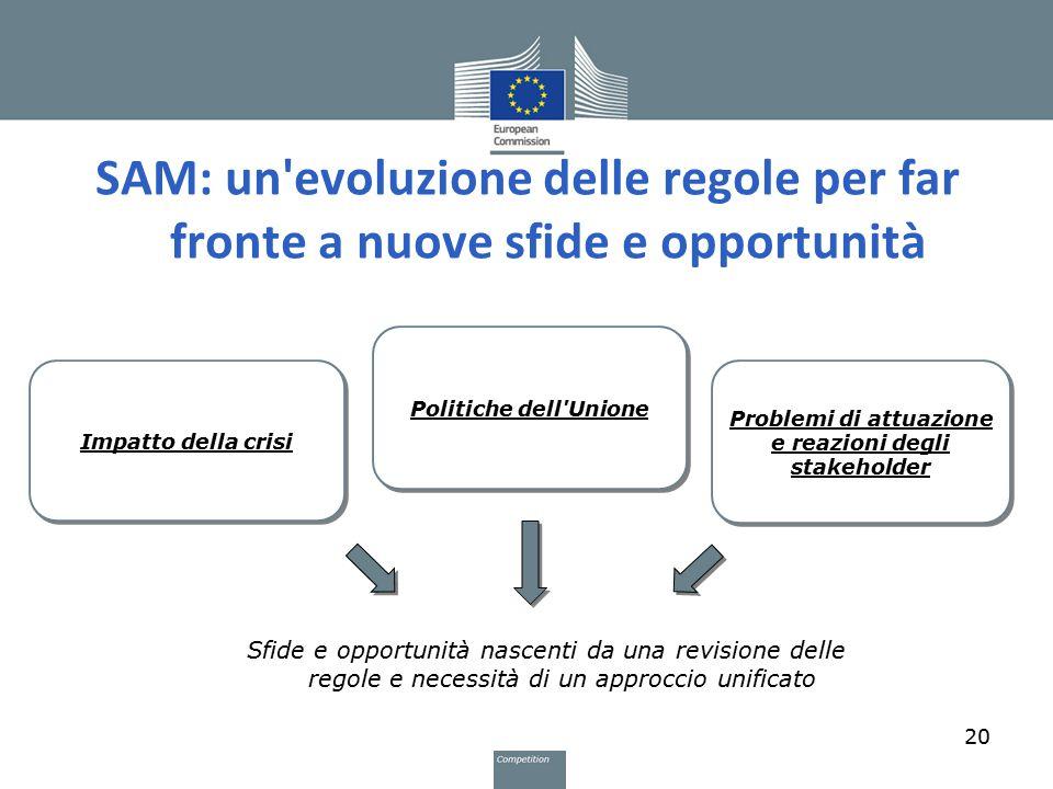 Problemi di attuazione e reazioni degli stakeholder