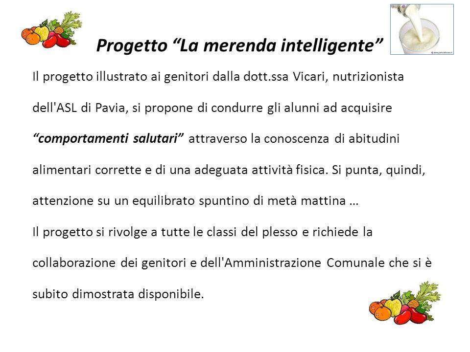 Progetto La merenda intelligente