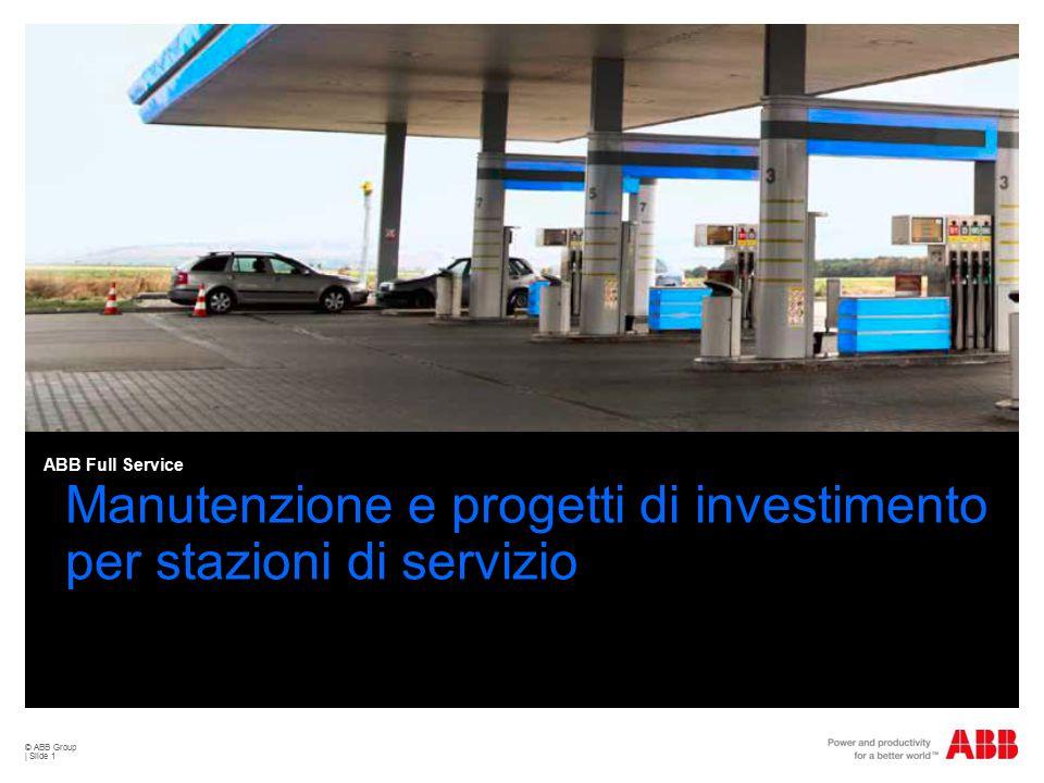 Manutenzione e progetti di investimento per stazioni di servizio