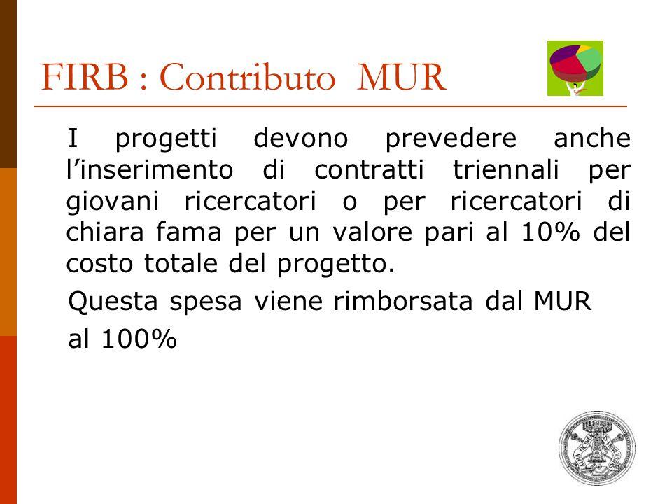 FIRB : Contributo MUR