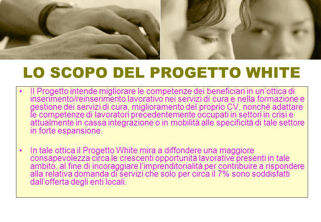 LO SCOPO DEL PROGETTO WHITE