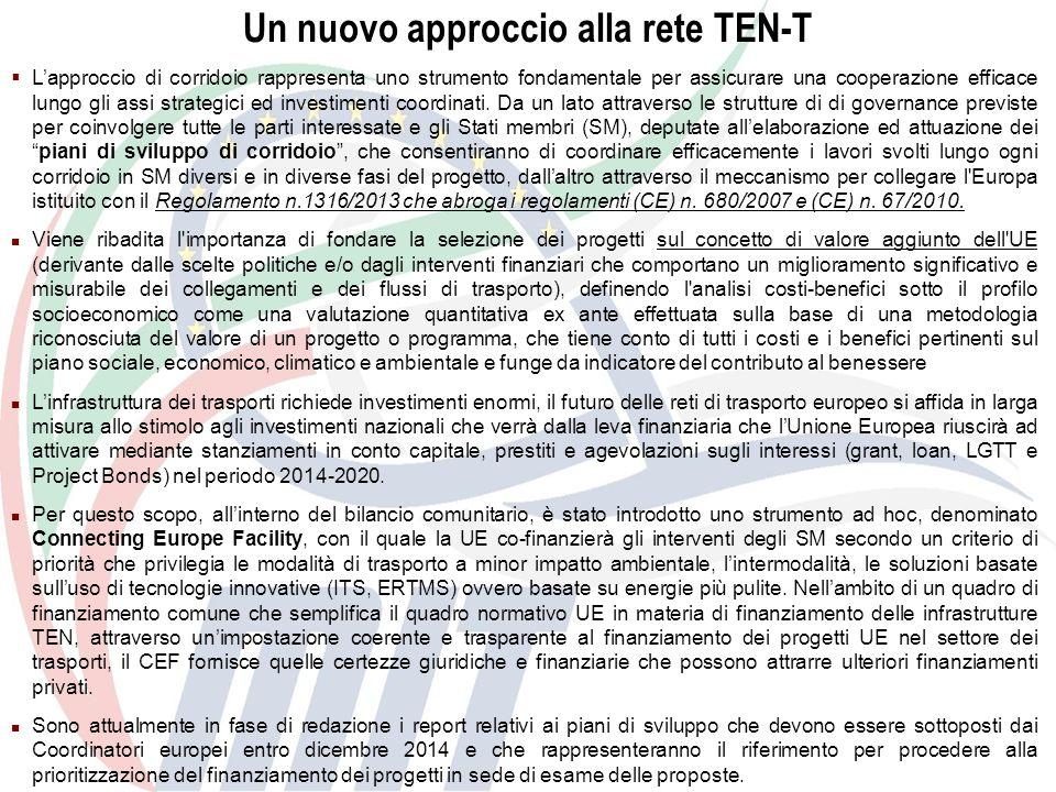 Un nuovo approccio alla rete TEN-T