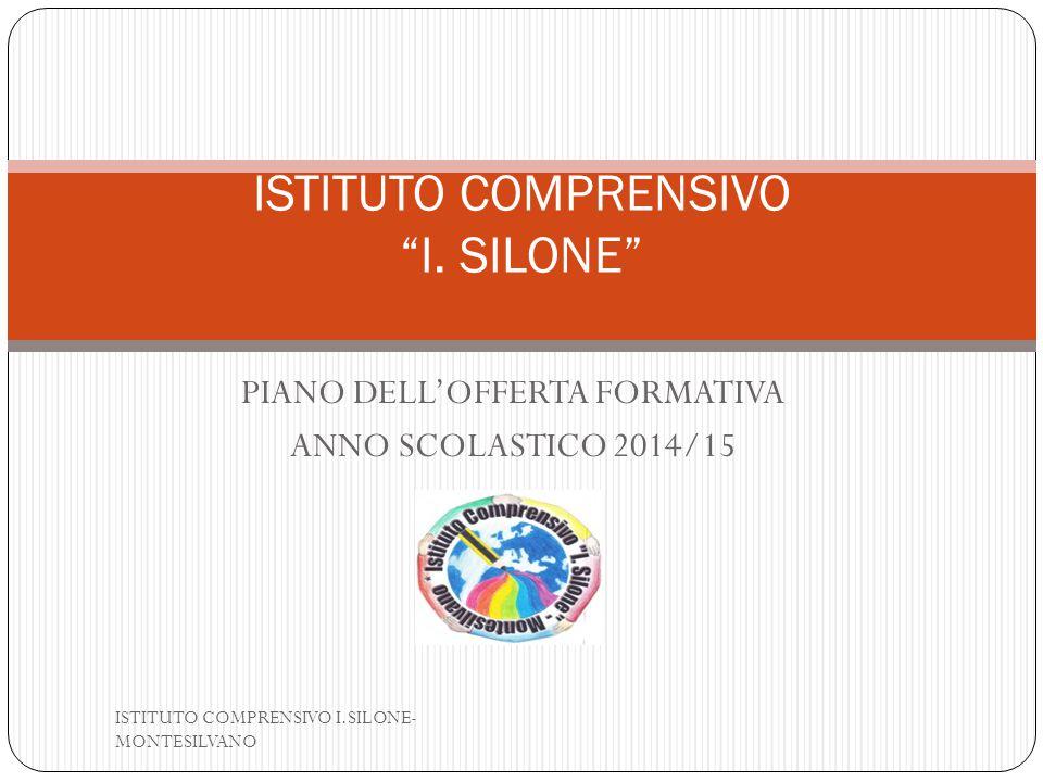 ISTITUTO COMPRENSIVO I. SILONE
