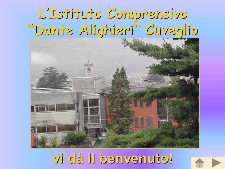 L'Istituto Comprensivo Dante Alighieri Cuveglio