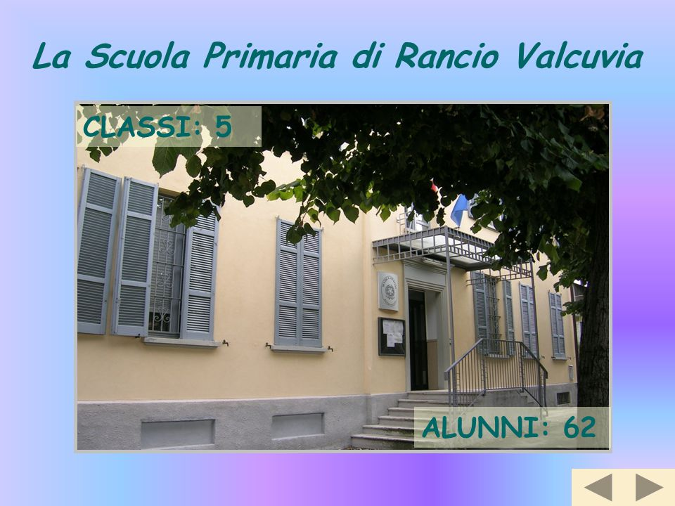 La Scuola Primaria di Rancio Valcuvia