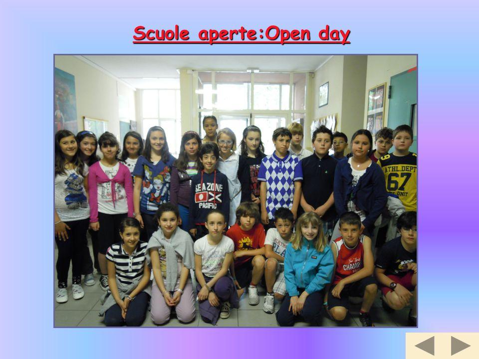 Scuole aperte:Open day
