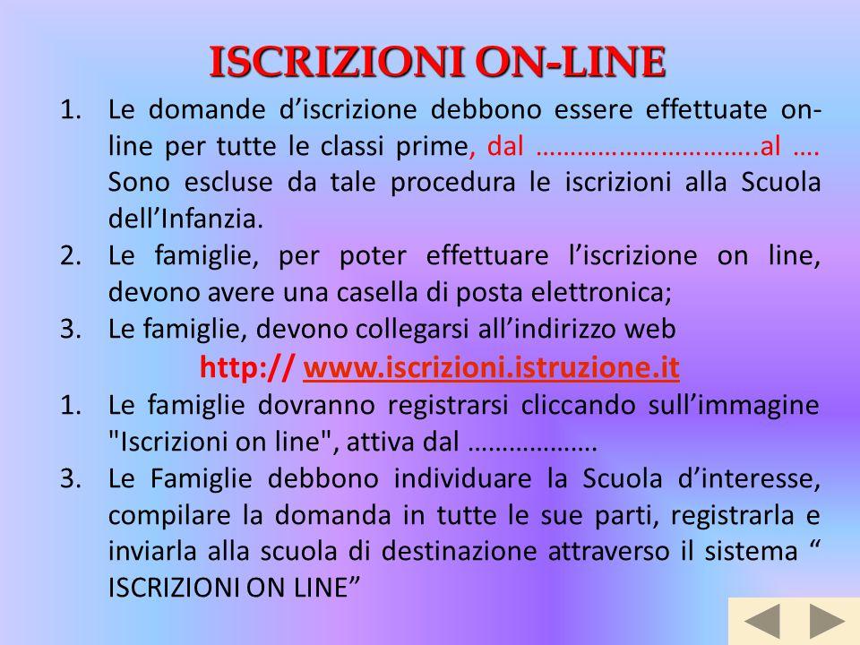 http:// www.iscrizioni.istruzione.it