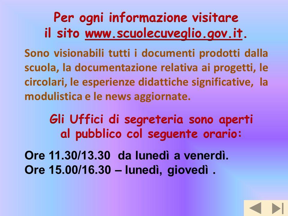 Per ogni informazione visitare il sito www.scuolecuveglio.gov.it.