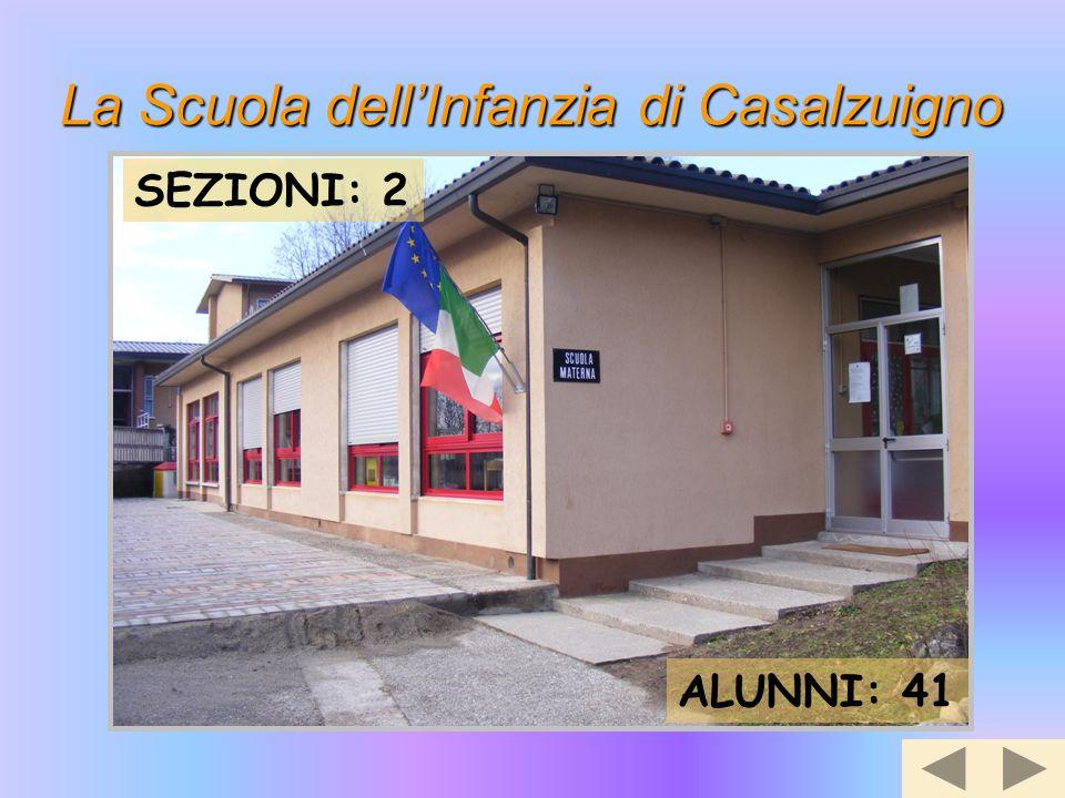 La Scuola dell'Infanzia di Casalzuigno