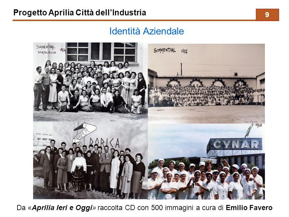 Identità Aziendale Progetto Aprilia Città dell'Industria 9