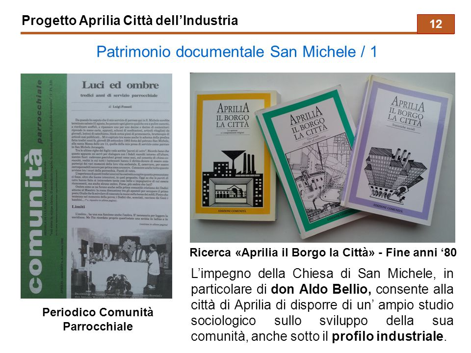 Patrimonio documentale San Michele / 1