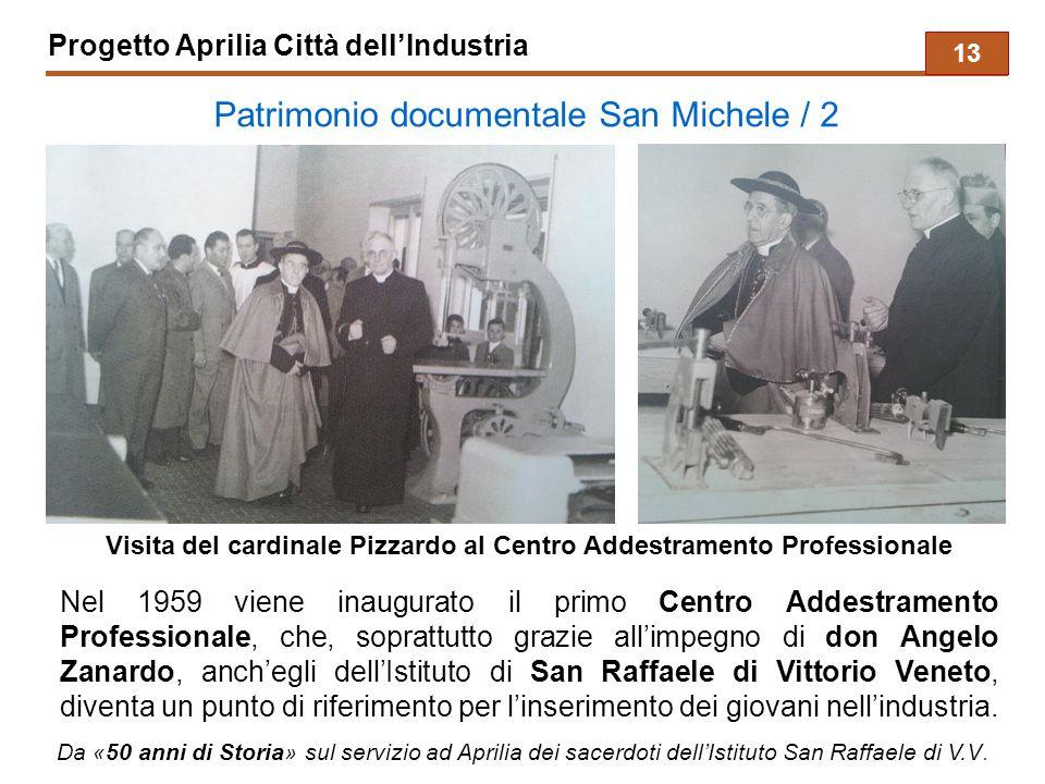 Visita del cardinale Pizzardo al Centro Addestramento Professionale