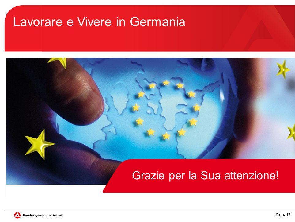 Lavorare e Vivere in Germania