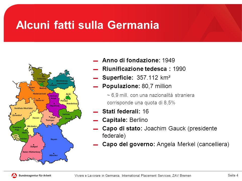 Alcuni fatti sulla Germania