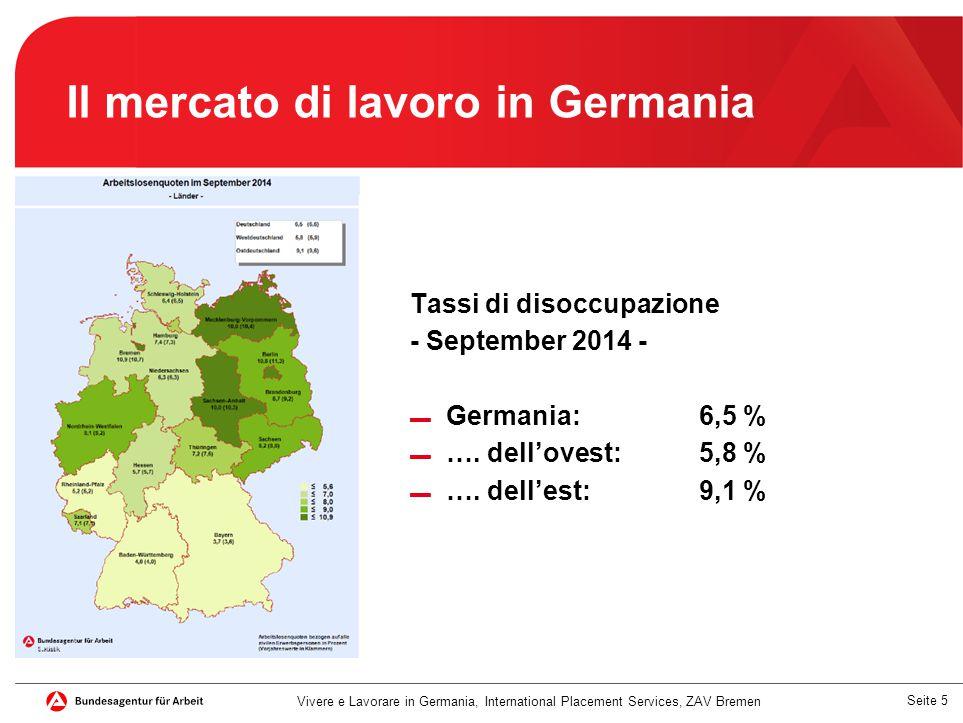 Il mercato di lavoro in Germania