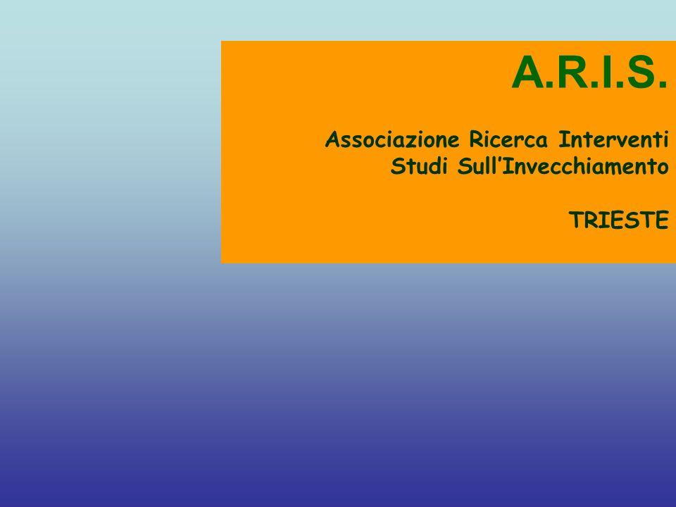 A.R.I.S. Associazione Ricerca Interventi Studi Sull'Invecchiamento