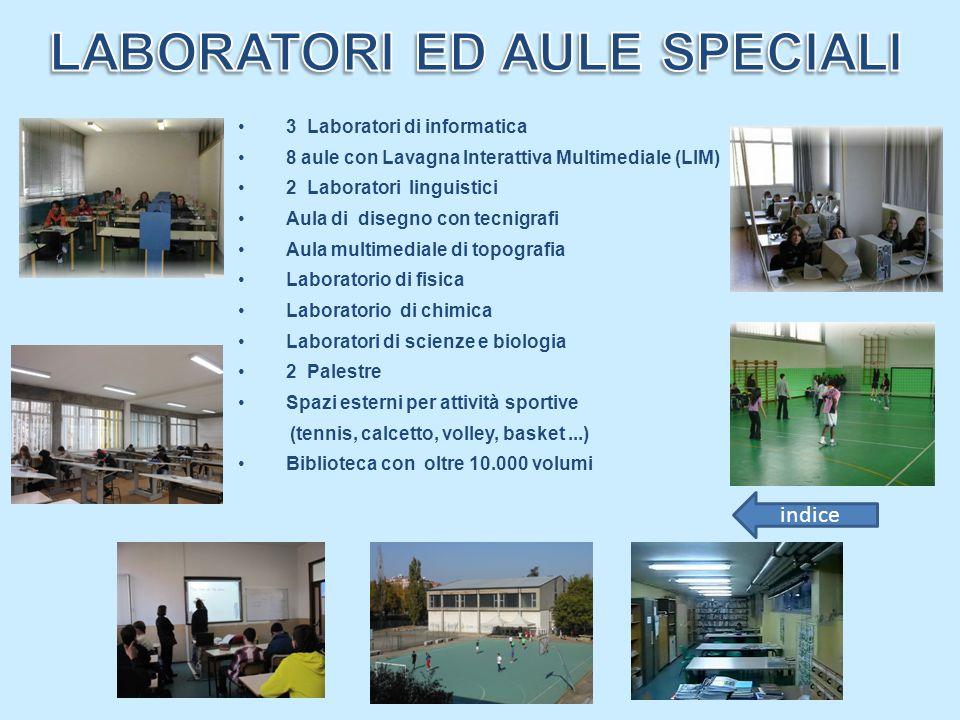 LABORATORI ED AULE SPECIALI