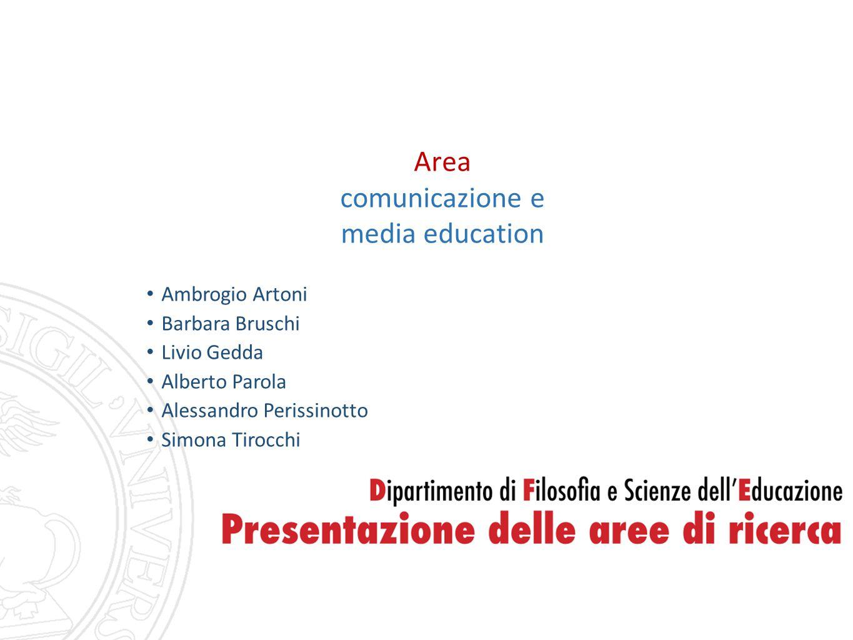 Area comunicazione e media education